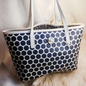 Authentic circle Michael kors purse handbag